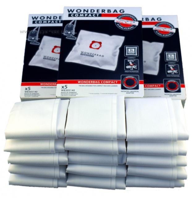 Originální sáčky ROWENTA Wonderbag Compact WB305140 15ks