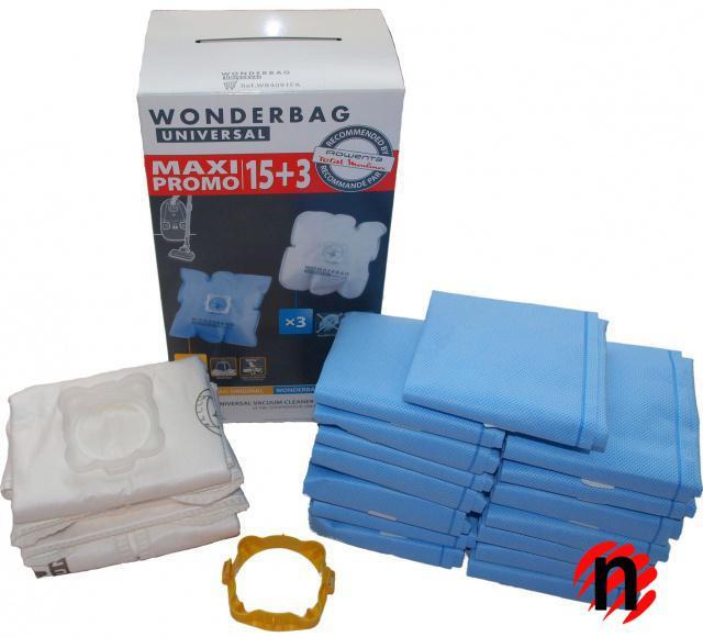 Rowenta Originální sáčky ROWENTA Wonderbag MAXI PROMO WB4091FA 18ks