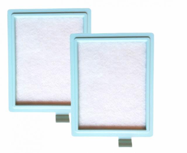 AEG Sada mikrofiltrů pro vysavače AEG Viva Quickstop AVQ 2100 až 2190 s rámečkem 2ks