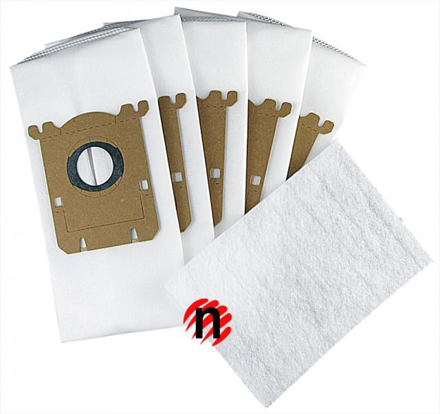 Textilní sáčky do vysavače ELECTROLUX EL 4100, EL 4200 5ks