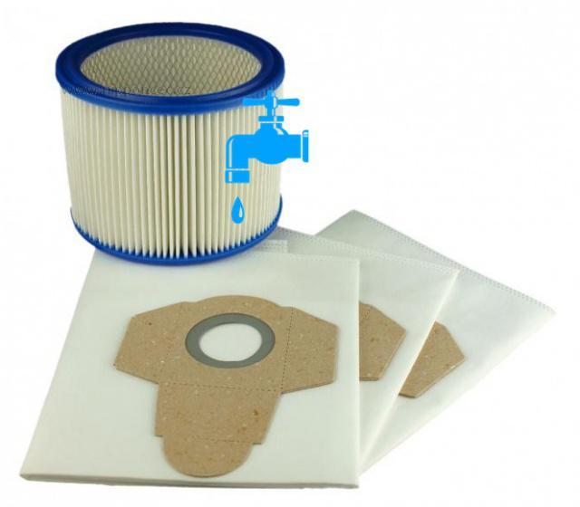 3 sáčky a filtr pro PARKSIDE PNTS 1250 polyesterový