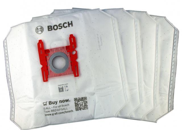 Sáčky Bosch BBZ41FGALL pro SIEMENS Super S 4ks + filtr