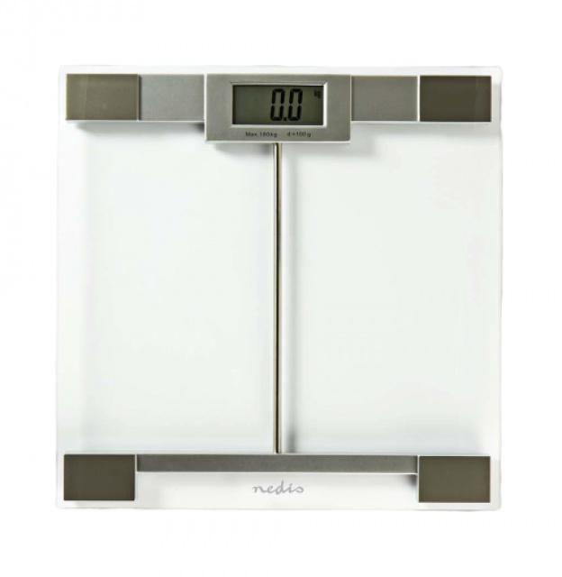 Digitální osobní váha Nedis Ultra plochá MAX 180 kg