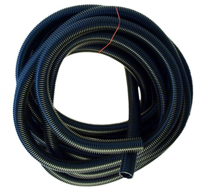 Univerzální hadice k vysavači 32 mm černá, 15 m