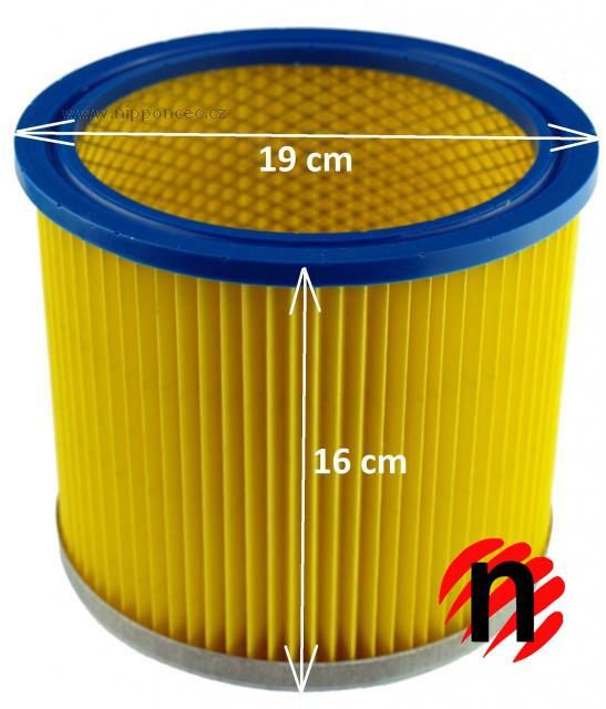 Jolly Filtr HF23 násuvný (16x19cm) pro víceúčelové vysavače