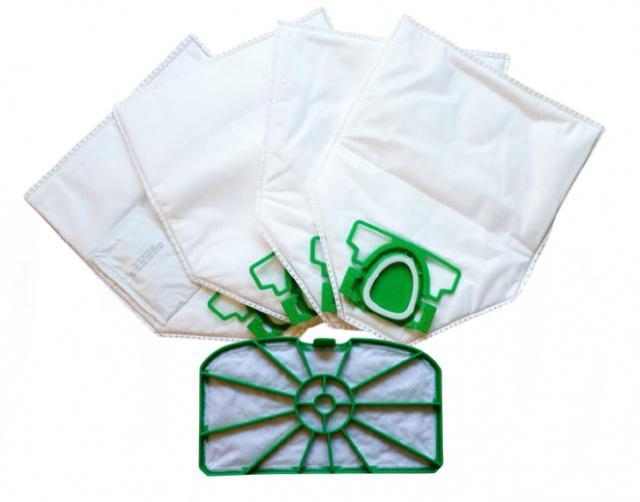 Sáčky JOLLY V5 MAX textilní antibakteriální (+ filtr) 4ks