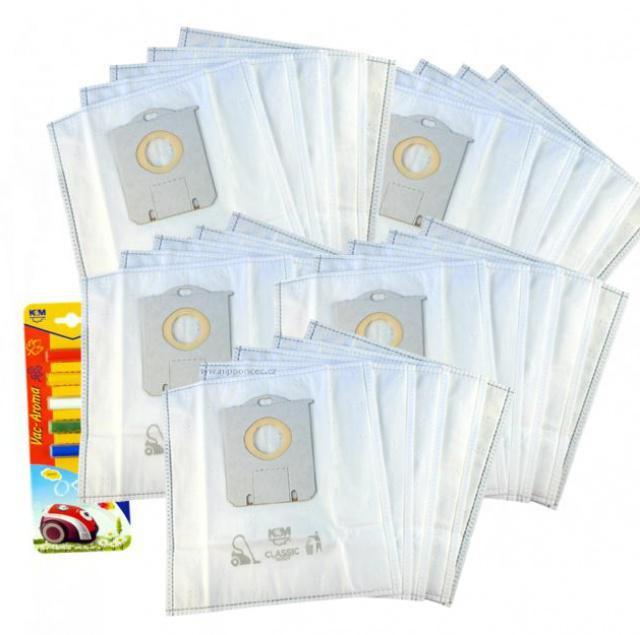 Sáčky 25ks pro ELECTROLUX ESP75BD s-bag typu + citronová vůně