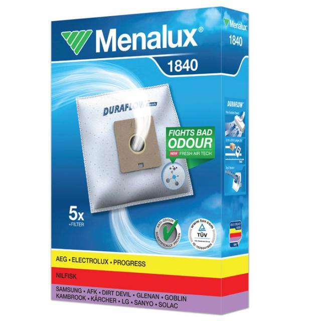 Menalux 1840 Sáčky do vysavače syntetické 5ks