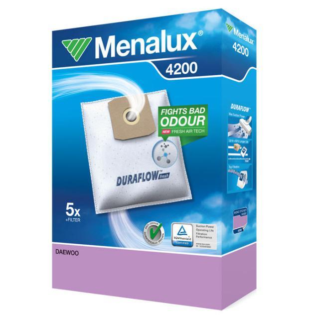 Menalux 4200 Sáčky do vysavače syntetické 5ks