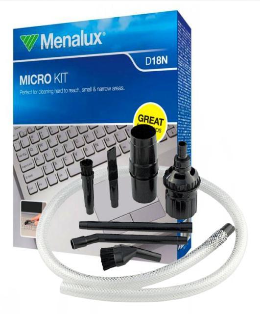 Mini hubice k vysavači Menalux D18N pro ELECTROLUX Laser Z4820 až Z4850 a jiné 32 a 35 mm