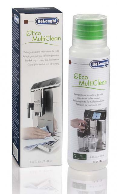 DeLonghi Čistič na mléko a tuky pro kávovary a espresso automaty 250ml