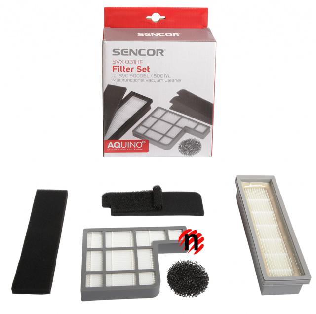 Sada filtrů Sencor SVX 031HF pro SVC 500x
