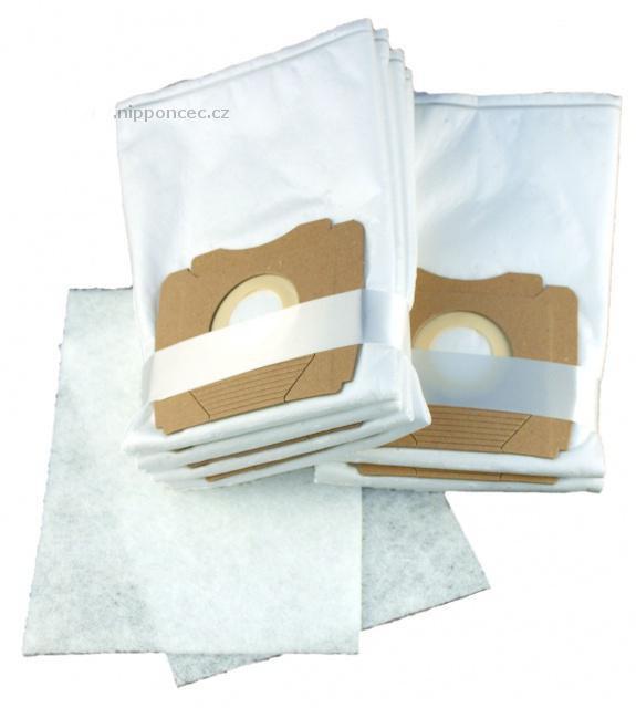 Filtrační sáčky do vysavače PROGRESS PC 4400 až PC 4499 Trio 8ks textilní