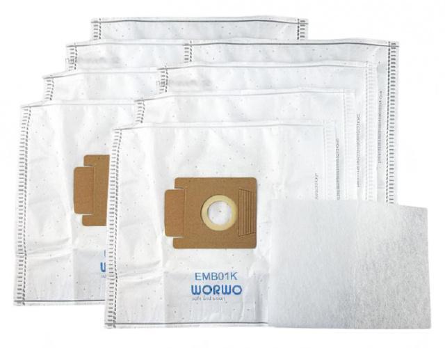 Sáčky do vysavače EIO Lux 8ks mikrovlákno, filtry