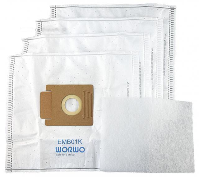 Sáčky do vysavače MORPHY RICHARDS Domatic BS 49/1 textilní 4ks