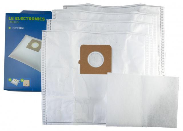 Sáčky do vysavače LG ELECTRONICS VC 3B 51, 52 Turbo Delta 4ks + filtr