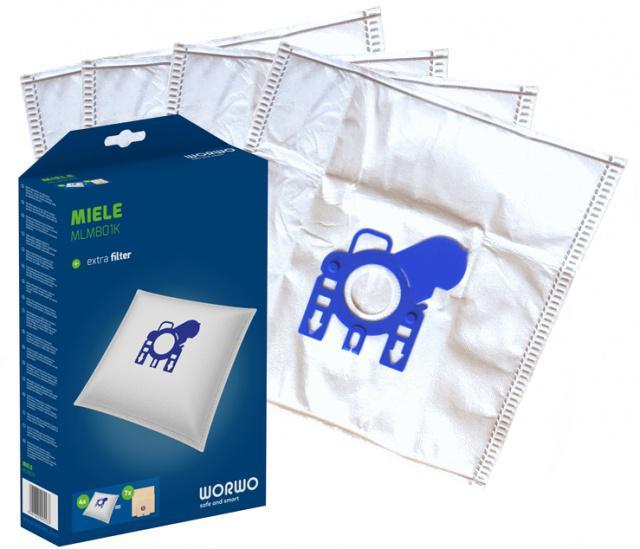 Sáčky do vysavače MIELE S2 EcoComfort, EcoLine z mikrovlákna 4ks