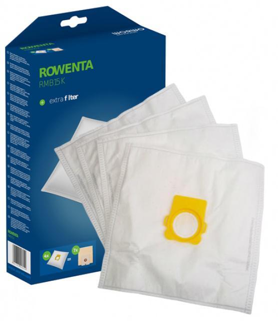 Textilní sáčky pro ROWENTA RO 442721 Silence Force Compact z mikrovlákna 4ks