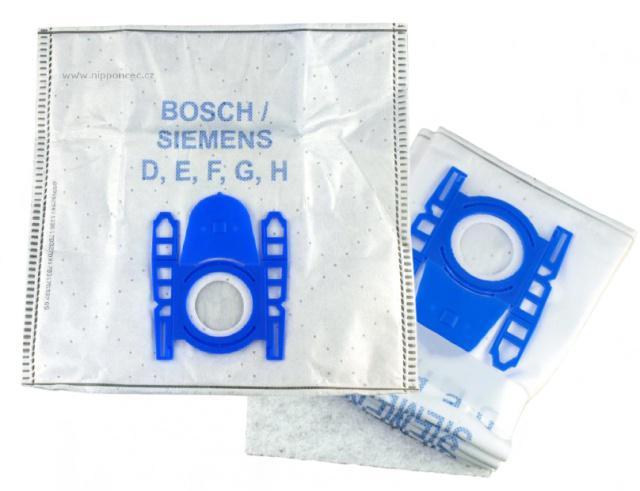 Sáčky pro vysavač BOSCH BGL3 HYG 4ks mikrovlákno