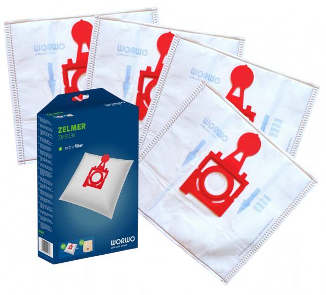 Sáčky do vysavače ZELMER Maxim 3000 textilní 4ks
