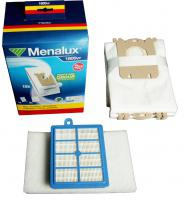 15 ks sáčky S-Bag, HEPA filtr H13 omývatelný, 3x filtr - originál sada 1800VP k vysavači Electrolux, AEG, Philips