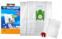 Sáčky do vysavače Bosch a Siemens F, G 12ks + 2 filtry - Menalux 2000 P
