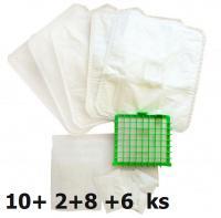 Sáčky Jolly R15 MAX Plus Pack 2 balení - 10 sáčků, 2x HEPA, 8x filtr, 6x vůně s přepravou ZDARMA