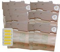 Sáčky JOLLY V1 15 ks papírové - 3x V1 sáčky