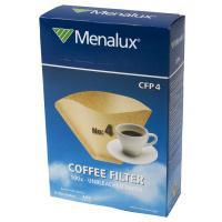 Nebělené kávové filtry, velikost 4 Menalux CPF4
