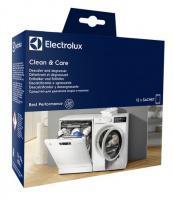 Odvápňovací a čisticí prostředek pro pračky a myčky Clean Care Box ELECTROLUX - 12 sáčků
