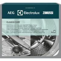 AEG-Electrolux Clean Care 3v1 Čistič, odvápňovač a dezinfekce pro pračky a myčky, 12 cyklů