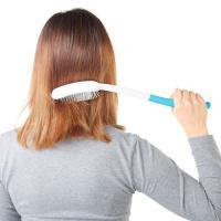 Ergonomický kartáč na vlasy s prodlouženou rukojetí (40 cm) Vitility
