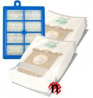 HEPA filtr a sáčky pro PHILIPS Performer FC 9150 Performer FC 9199 mikrovlákno 1+8ks