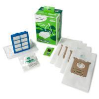 HEPA filtr H13 pro vysavače Electrolux UltraSilencer Green v sadě s 4 sáčky Sbag a vůní (GSK1)