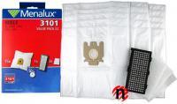 15 sáčků, HEPA filtr, 3 filtry v promo setu pro Miele S2 serie pro MIELE S 2000 až S 2999