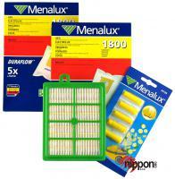 S-BAG sáčky 10ks pro Electrolux, AEG, Philips 10ks, HEPA filtr H12 + blistr vůní v originál sadě MENALUX MSK3
