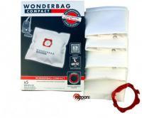 Originální sáčky ROWENTA Wonderbag Compact WB305140 5ks – sáčky Rowenta Compacteo, Ergo, Cit