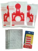 Sáčky do vysavače ZELMER Jupiter, Magnat, Maxim, Solaris, Solaris Twix - maxi balení 12 ks, 3 filtry + 5 vůní Růže