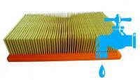 Alternativní skládaný filtr Bosch GAS 35 a 50 do vysavače BOSCH GAS 35