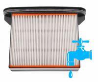 Plochý filtr do vysavačů BOSCH GAS 25/50/50M