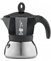 Moka konvice Bialetti Moka Induction 3 šálky Black (150 ml)