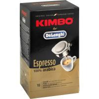 100% Arabica kávové pody Kimbo DeLonghi 18ks