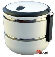 Termoska na jídlo Eldom TM-140 dvoukomorová bílá, 1,4 litru