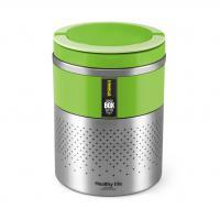 Hermetický Lunch Box 1,6 litru se sklopnou rukojetí Eldom TM 160 Green