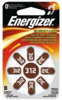 Baterie do naslouchadel 312 SP-8 ENERGIZER 8ks