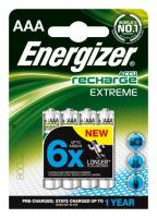 Baterie Energizer nabíjecí AAA HR03/800, 4ks