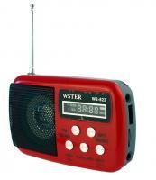 Mini Digital Speaker System WSTER WS-822 červené