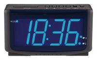Rádiem řízený digitální budík HE-CLOCK-65 Balance