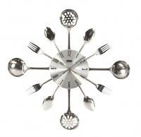 Kuchyňské nástěnné hodiny Vidličky a lžíce 40 cm