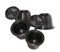 Opakovaně plnitelné kapsle pro Nespresso CoffeeDuck 3ks